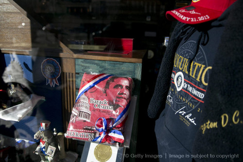 Items Commemorating Obama's Inuaguration