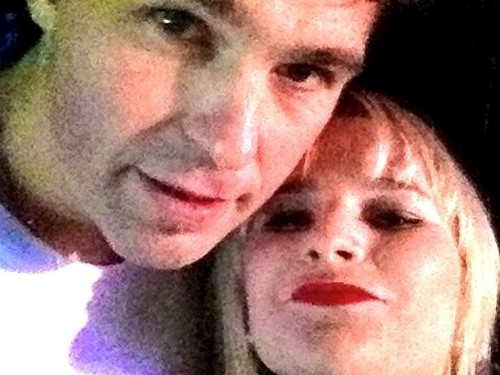 Jagr and girl with red lips