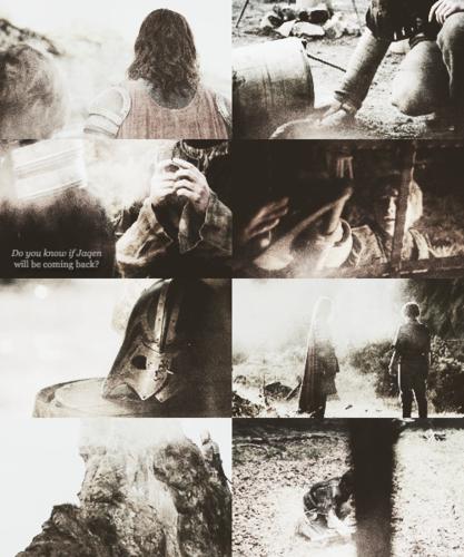 Jaqen & Arya + Faceless