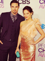 Jay and Kristin @PCAs 2013 - jay-ryan photo