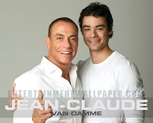 Jean Claude and his son