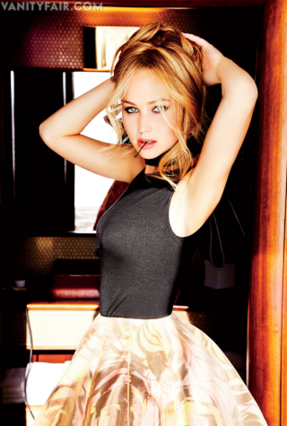 "Jennifer's ""Vanity Fair"" photoshoot outtakes {February 2013}."