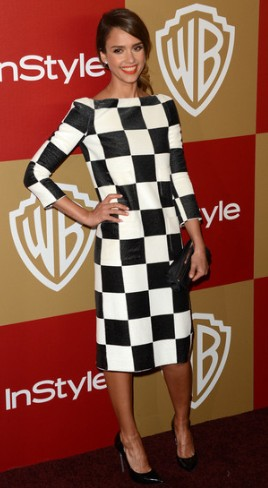 Jessica Alba- Golden Globes After Party