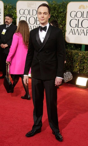 Jim Parsons - Golden Globes 2013