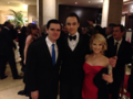 Michael Ausiello, Jim Parsons & Melissa Rauch - Golden globes 2013 - jim-parsons photo