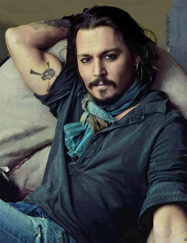 Johnny Depp/Vaninty Fair