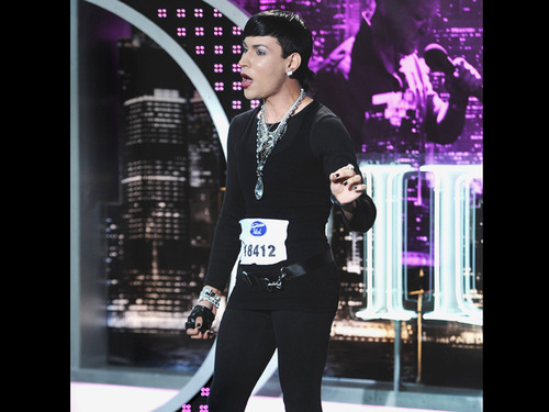 American Idol wallpaper possibly containing a business suit and a well dressed person entitled Josh Jada Davila