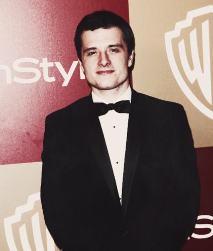 Josh at Golden Globes