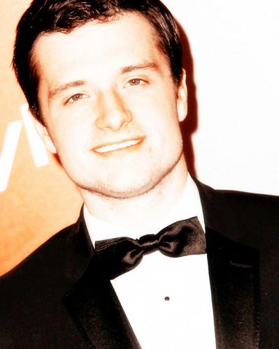 Josh at the Golden Globes