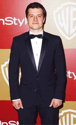 Josh at the Golden Globes