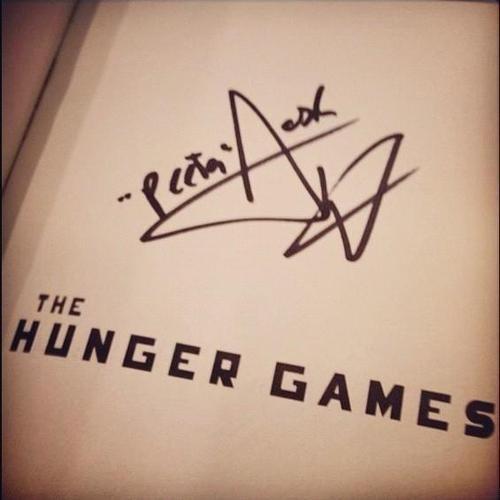 Josh's signature