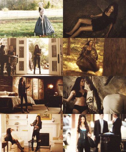 Katherine Pierce + body shots