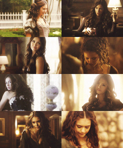 Katherine Pierce + hair porn