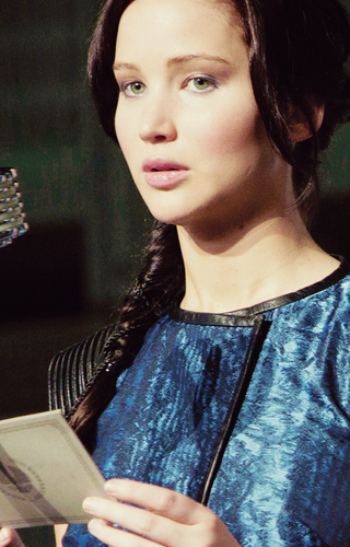 Catching Fire wallpaper with a cleaver titled Katniss-Catching Fire
