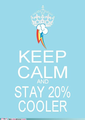 Keep Calm - rainbow-dash photo