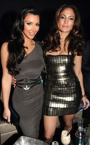 Kim Kardashian & Jennifer Lopez [2009]