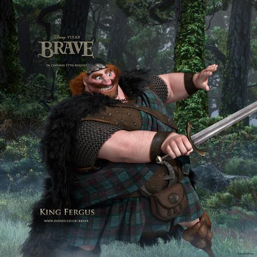 King Fergus Hintergrund