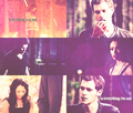 Klonnie // hate and love - klaus-and-bonnie fan art