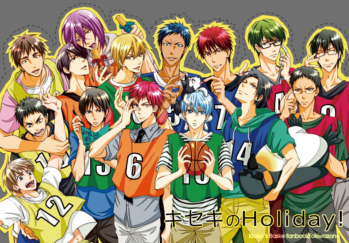 Картинки баскетбол куроко 9