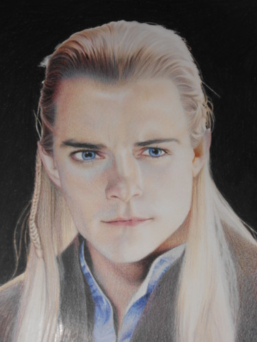 Legolas Greenleaf wallpaper with a portrait entitled Legolas