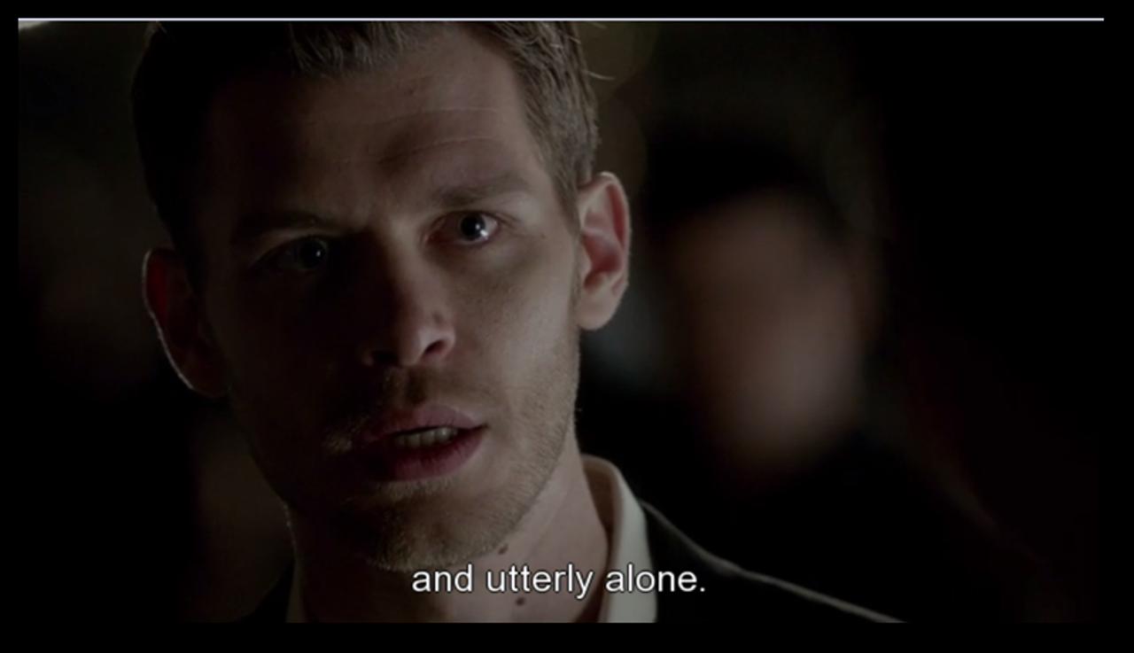 Vampire Diaries Love Quotes Klaus Klaus Vampire D...