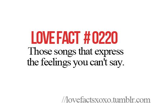 愛 Facts