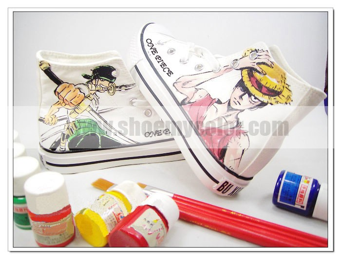 Luffy customized casual shoes