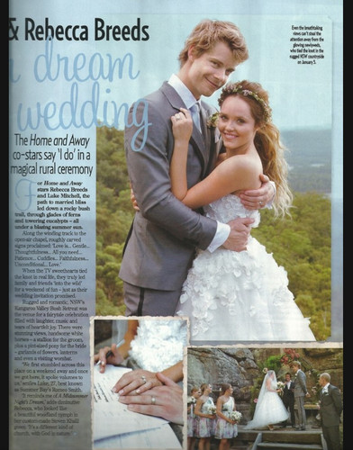 Home and away images luke mitchell rebecca breeds wed for Wallpaper home and away