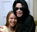 MJ and a fan - michael-jackson photo