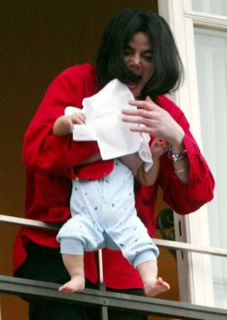 MJ and his baby