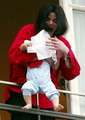 MJ and his baby - michael-jackson photo