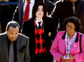 MJ and his mother and father - michael-jackson photo