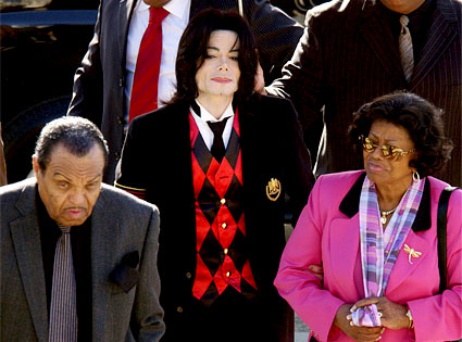 MJ and his mother and father