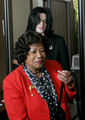 MJ and his mother - michael-jackson photo