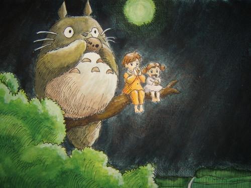 My Neighbor Totoro fondo de pantalla titled Totoro
