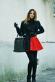 Me in a red skirt - womens-fashion photo