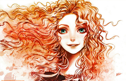 Merida wallpaper probably containing a red cabbage titled Merida