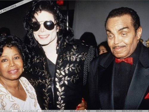 Michael And His Parents, Katherine And Joseph