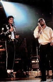 Michael And Stevie Wonder On Tour Back In 1987