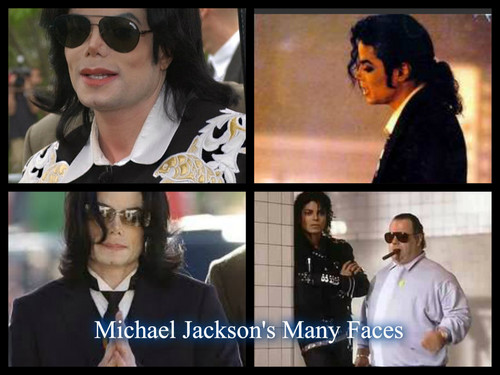 Michael Jackson's Many Faces