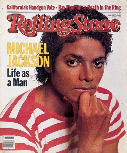"Michael On The Cover Of ""Rolling Stone"" Magazine"