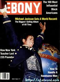 "Michael On The Cover Of The 1984 Issue Of ""EBONY"" Magazine"