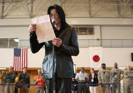 Michael Visting An American Army Base In 일본 Back In 2007
