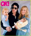 Michael's famaly on OK magazine - michael-jackson photo