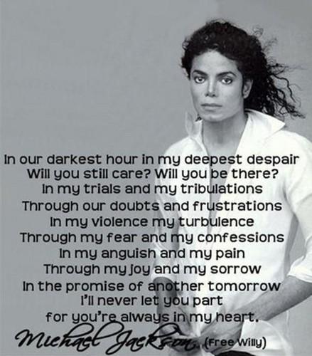 Michael's quotes!