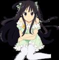 Mio-chan fanart - mio-akiyama fan art