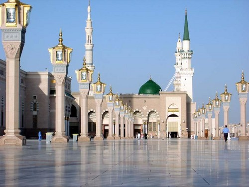 Islam پیپر وال titled Mosques of the world - Masjid al-Nabawi