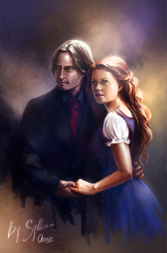 Mr. Gold & Belle ஐ..•.¸ When fairy tale and real worlds collapse…