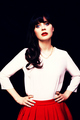 My edit - zooey-deschanel photo