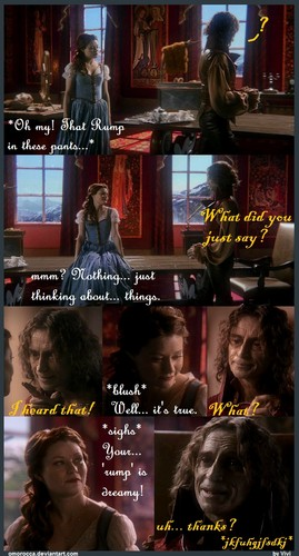 Naughty RumBelle ^_^